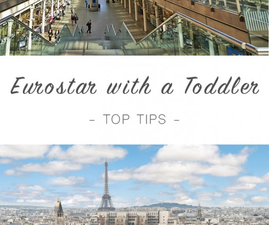 Eurostar with toddler