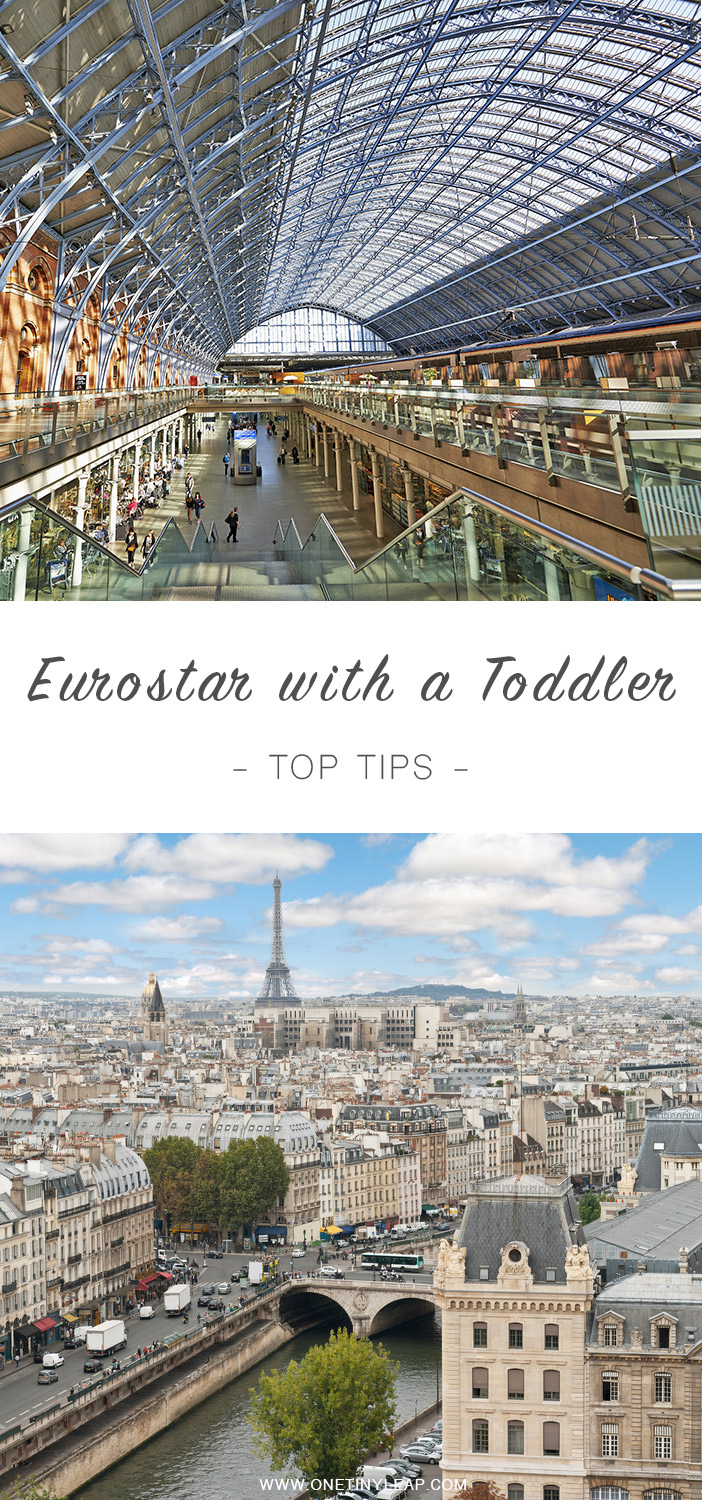 5 Tips for traveling on the Eurostar with Baby or Toddler