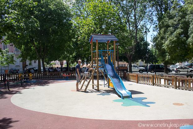 Lisbon playground