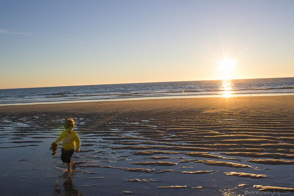 moledo sunset via one tiny leap blog