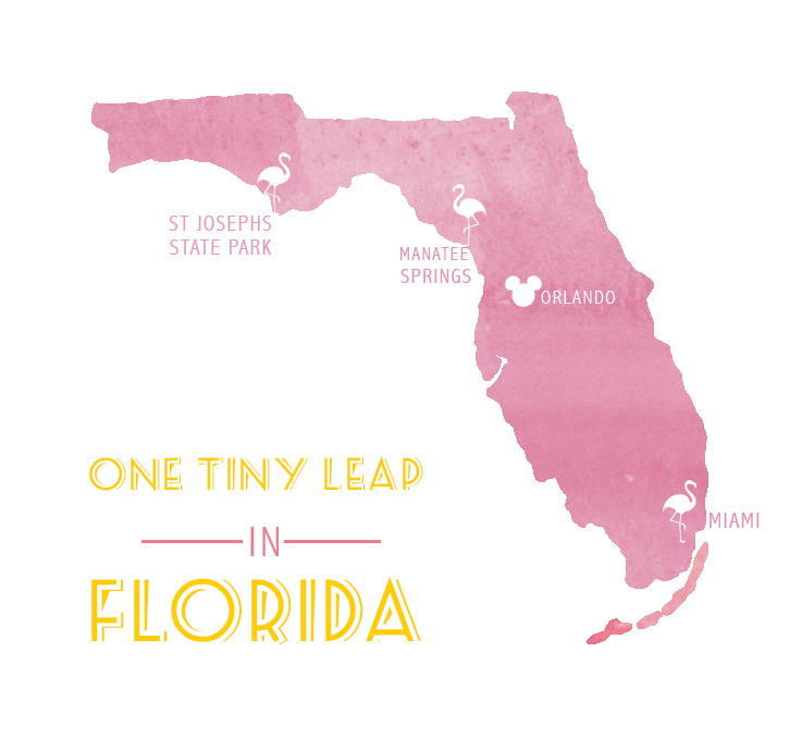 FLORIDA ROADTRIP | one tiny leap