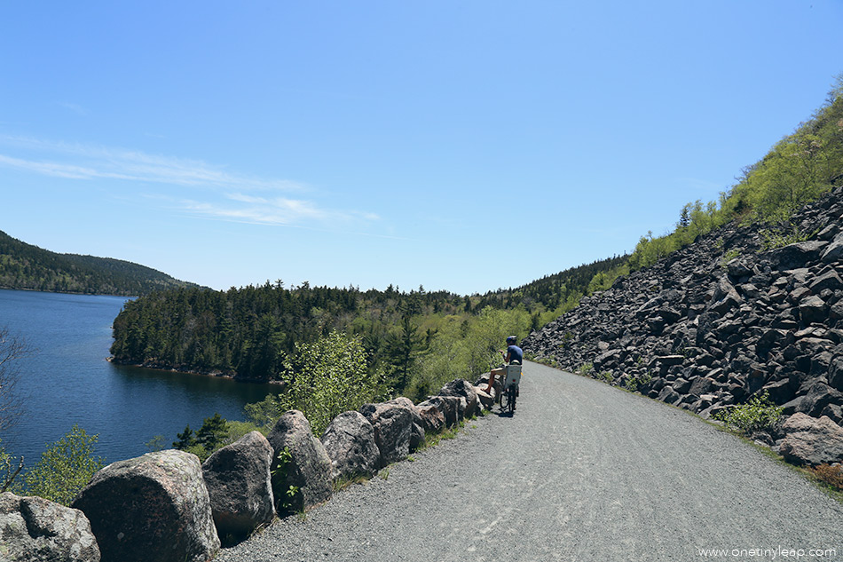 Biking Acadia National Park via @onetinyleap