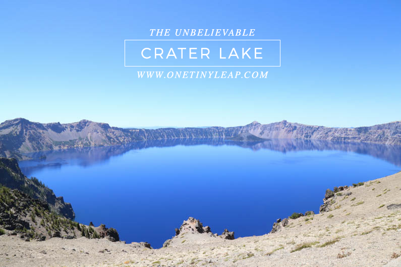 CRATER LAKE OREGON @ONETINYLEAP