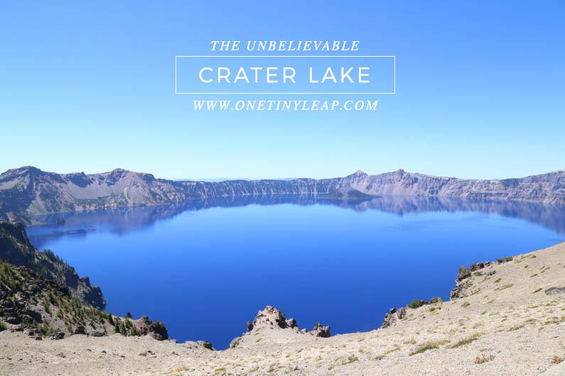 CRATER LAKE OREGON @ONETINYLEAP