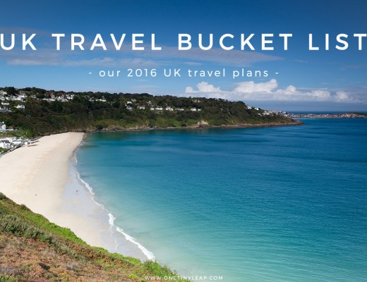 FAMILY UK BUCKET LIST