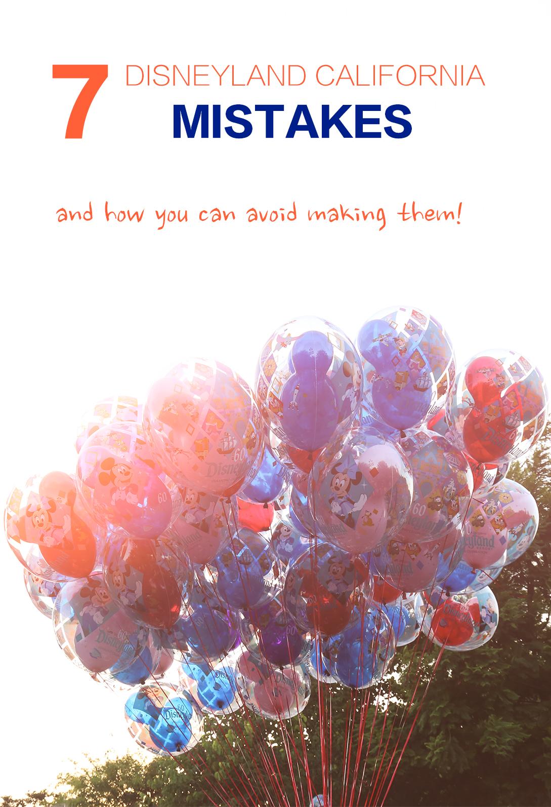 disneyland mistakes