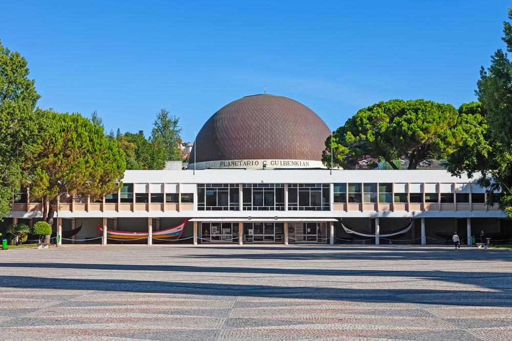 Lisbon planetarium with kids