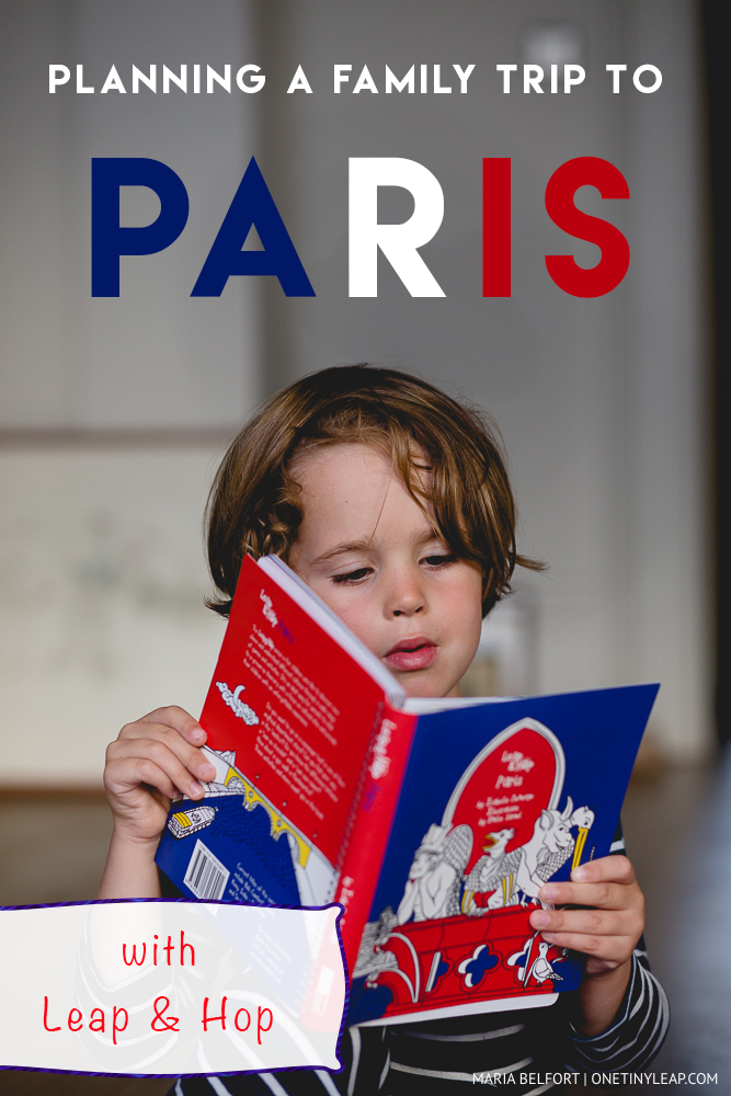 planning a family trip to Paris