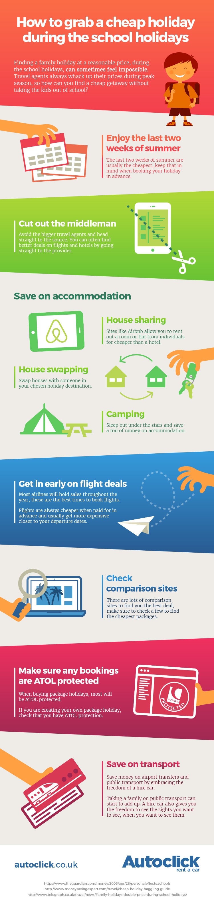 How to get the best school holiday deals