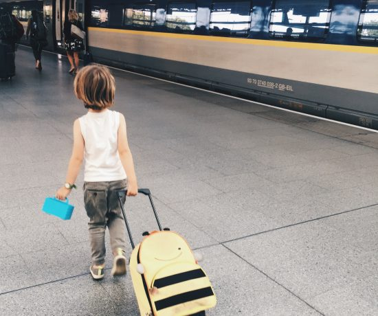 Train travel with kids Eurstar