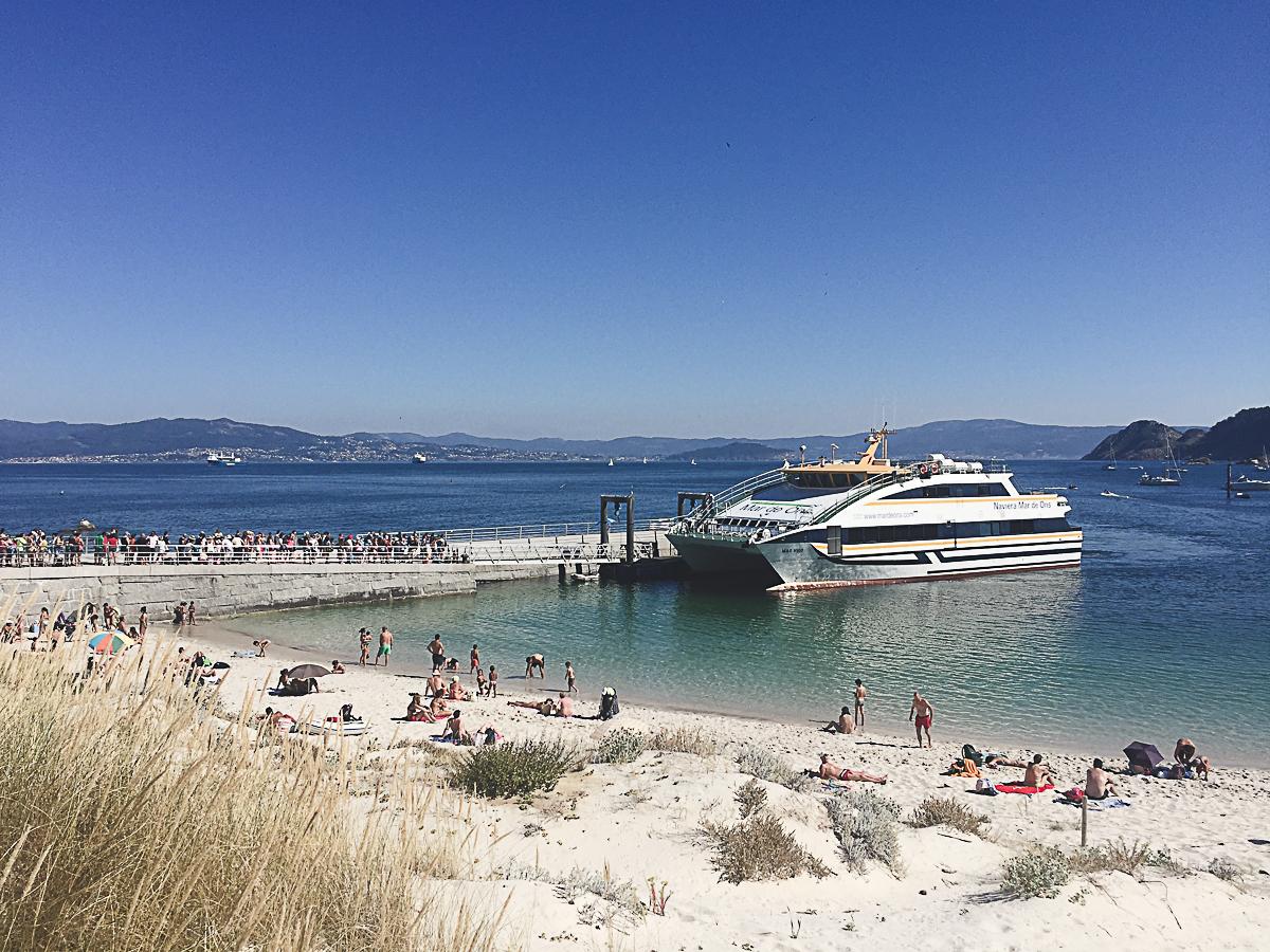 Cies islands, Galicia