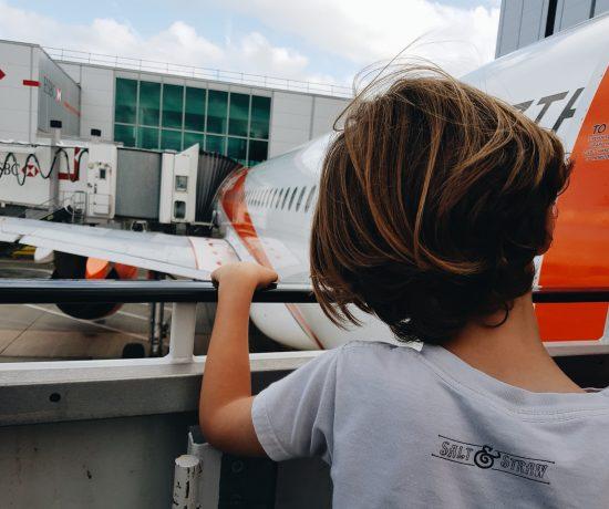 Airport delays with children